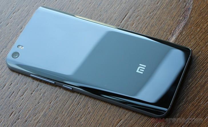 Xiaomi Mi5 черный обзор