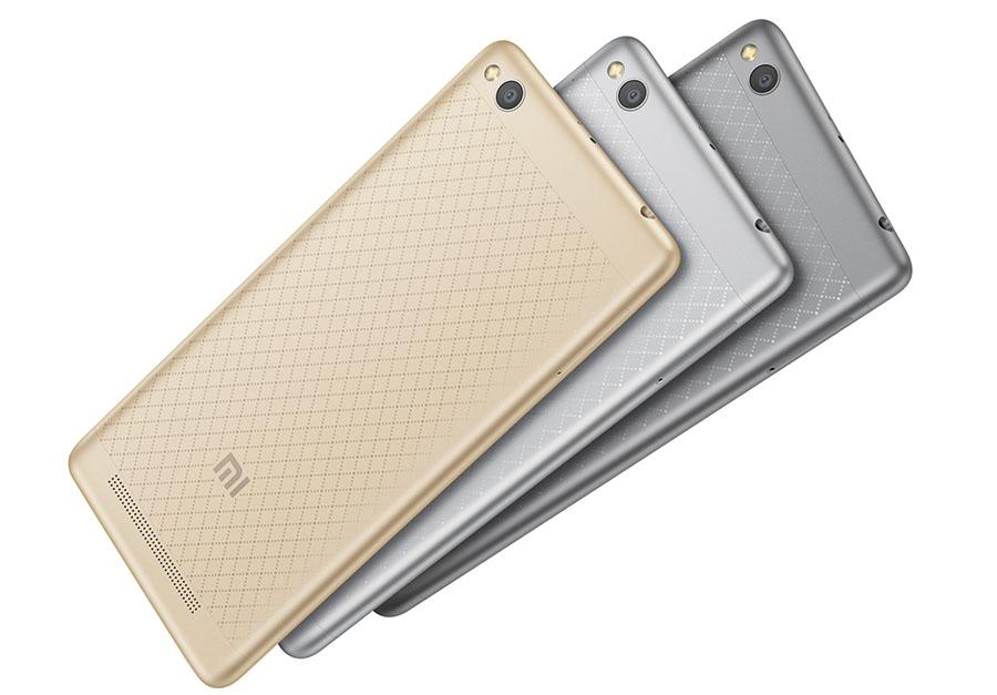Xiaomi Redmi 3 с аккумулятором на 4000 мАч