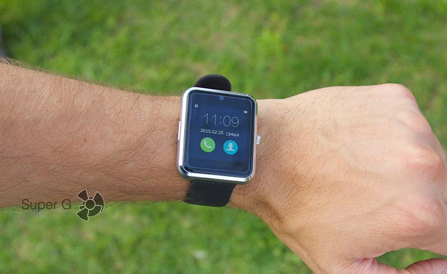 Как Haier Watch V1 выглядят на руке