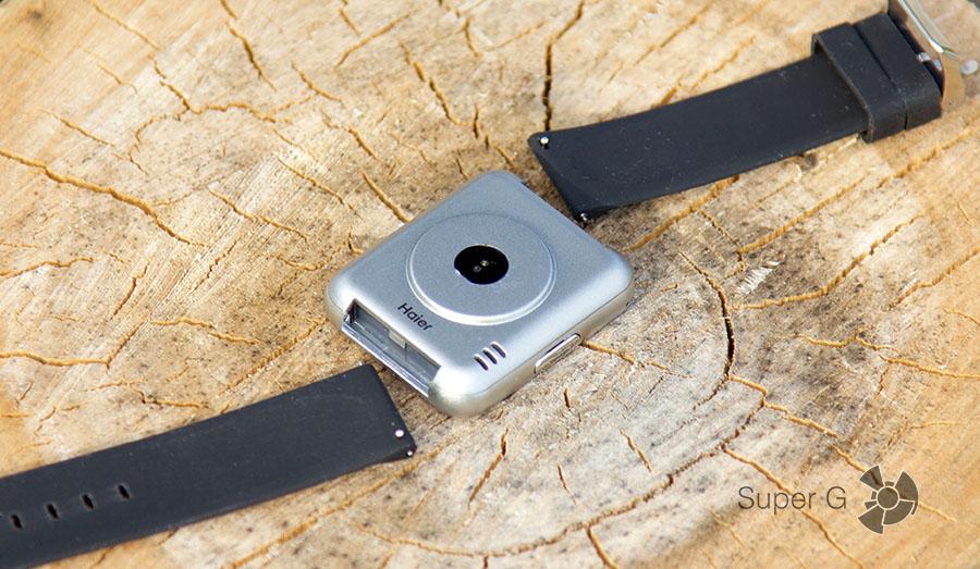 Комплектный ремешок Haier Watch V1 можно сменить