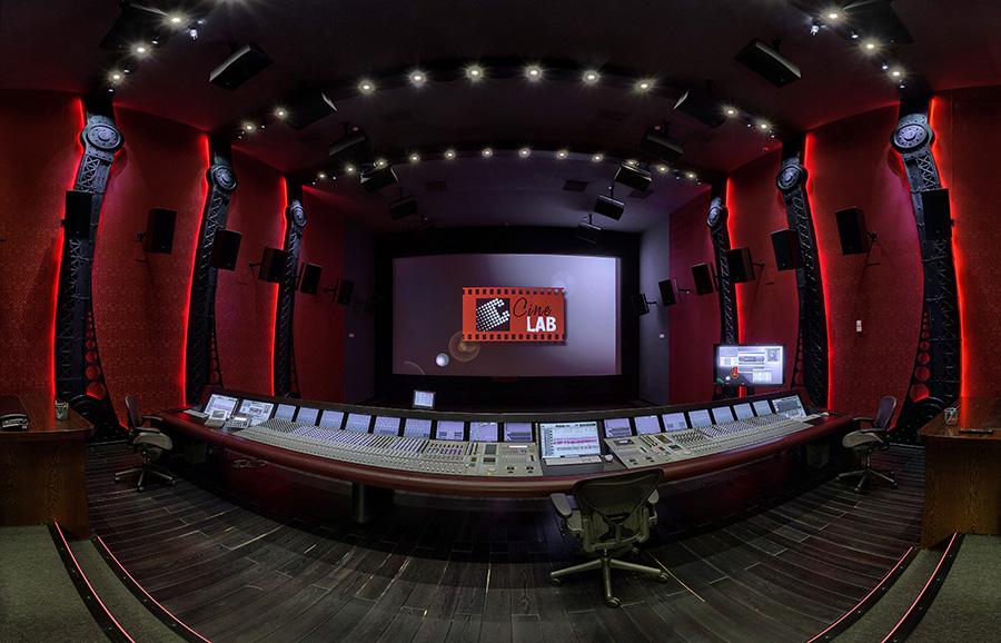 Панорамы звукозаписывающей студии CineLab