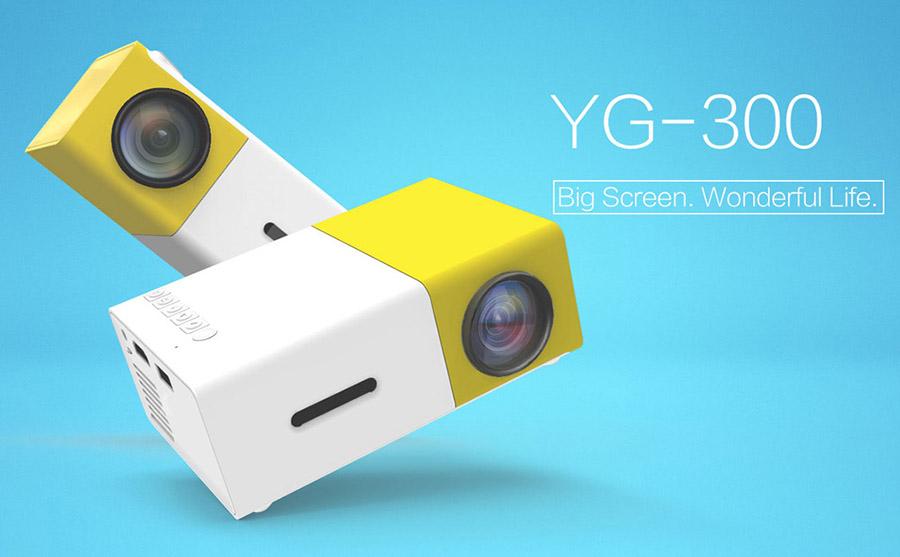 Портативный проектор YG-300