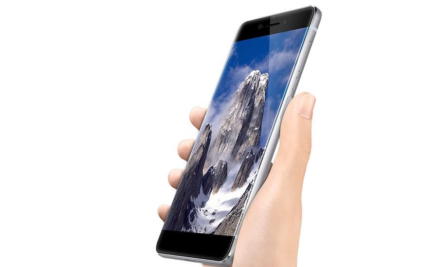 Сканер отпечатков пальцев в Ulefone Future расположен на правой грани