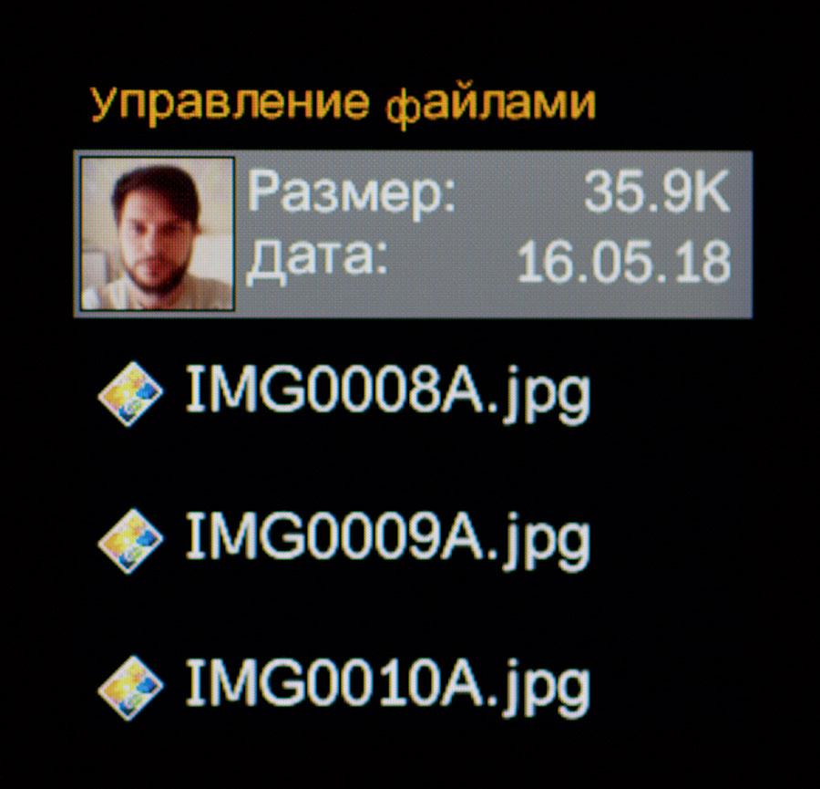 Файловый менеджер V1
