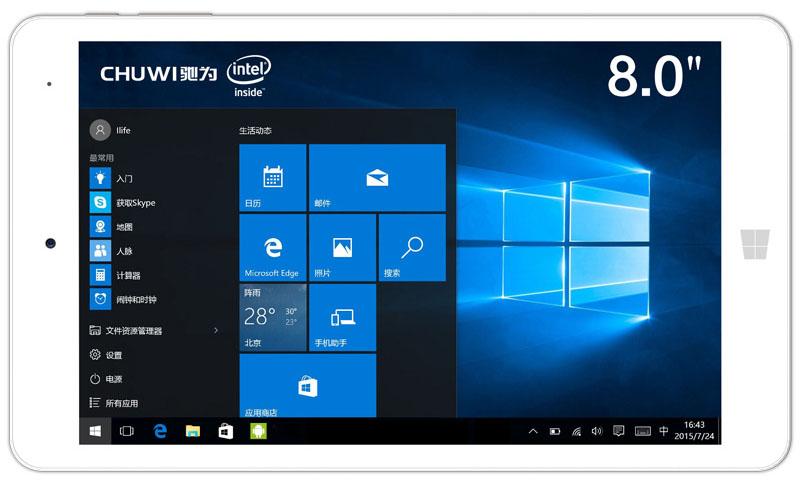 Chuwi Hi8 Pro планшет на Windows 10 и Android 5.1