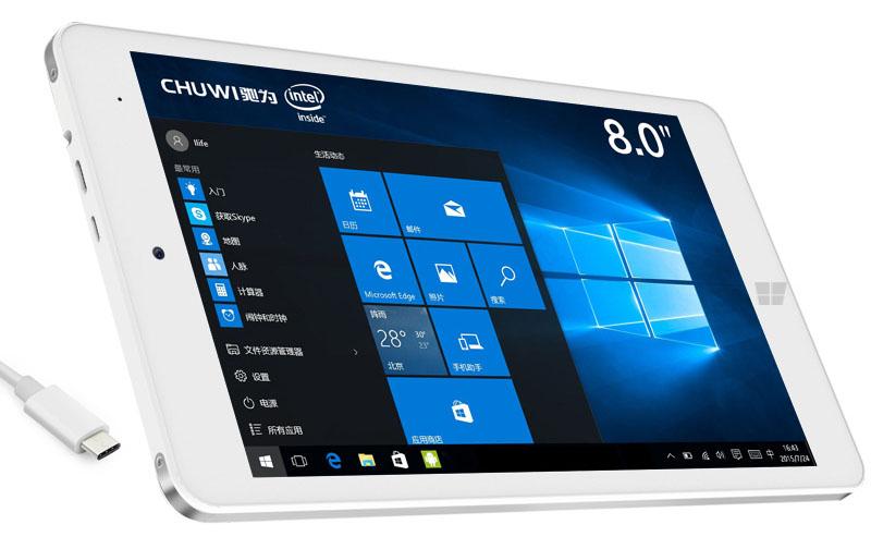 Chuwi Hi8 Pro поддерживает USB Type-C