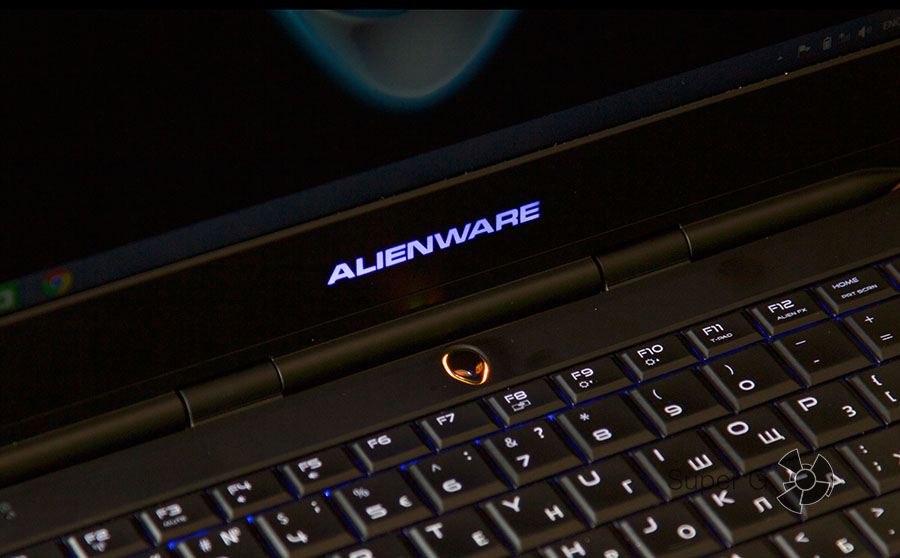 Подсветка ноутбука Dell Alienware 13