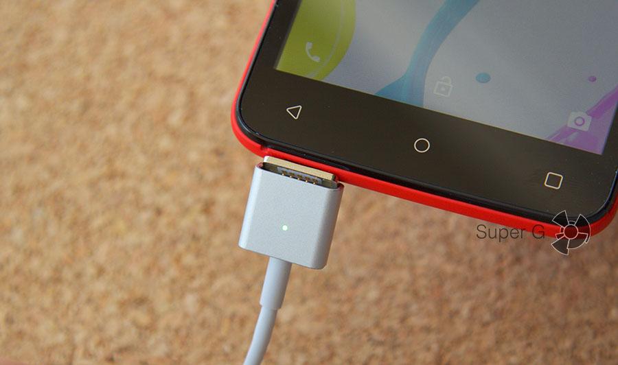 Магнитный кабель Micro USB для смартфонов на Android