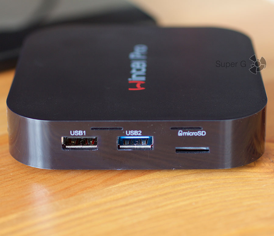 Wintel W8 Pro порты