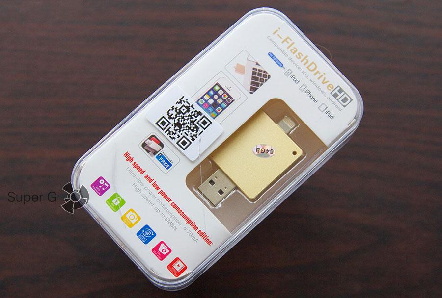 Коробка и распаковка i-Flash Drive