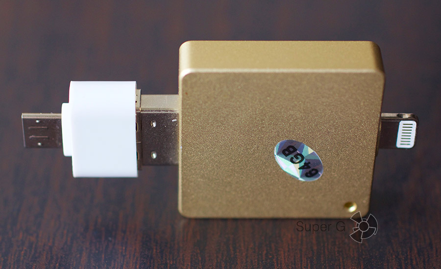 Как скопировать файлы с iPhone на флешку i-Flash Drive HD