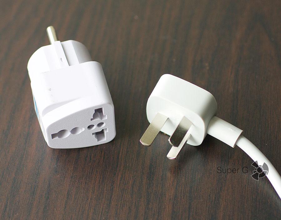 Вилка питания для удлинителя Xiaomi Power Strip