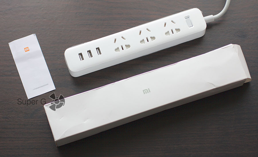 Комплектация Xiaomi Power Strip