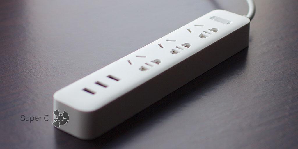 Стильный электрический удлинитель Xiaomi Power Strip