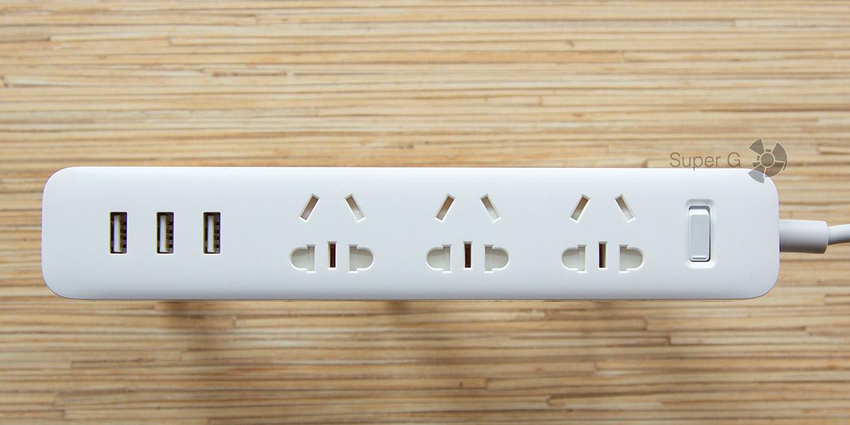 Обзор Xiaomi Power Strip - электрический удлинитель для эстетов