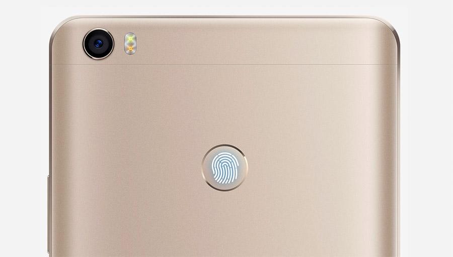 Xiaomi Mi Max камера и сканер отпечатков пальцев