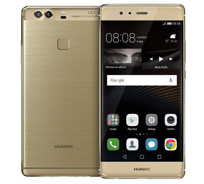 Золотой Huawei P9 Plus (модель VIE-L29)