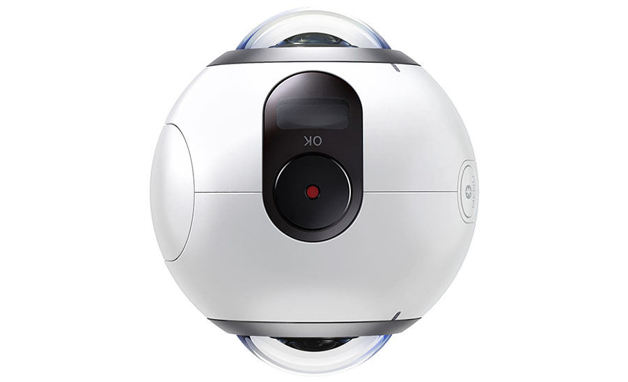 Камера для 360-градусной съемки Samsung Gear 360 поступает в продажу