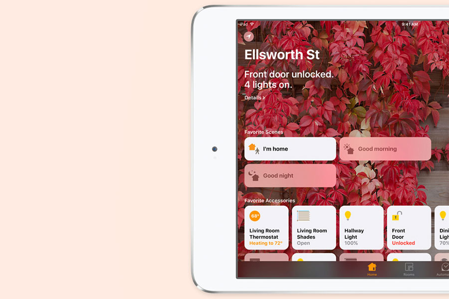 Приложение Дом в iOS 10