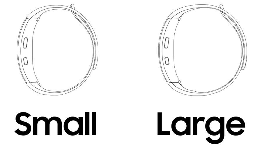 Ремешки Samsung Gear Fit 2 разных размеров