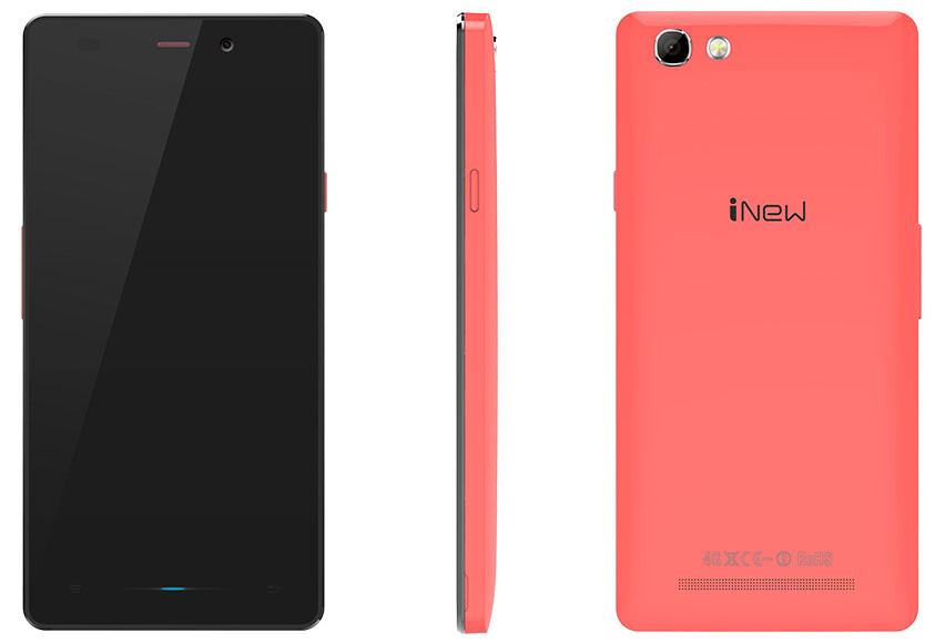 Розовый iNew U3