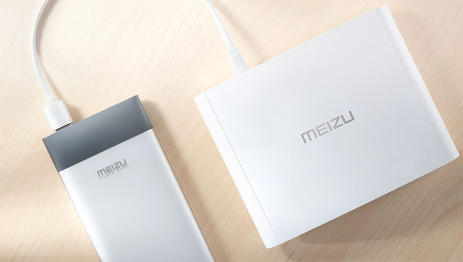 Роутер Meizu может питаться от аккумулятора