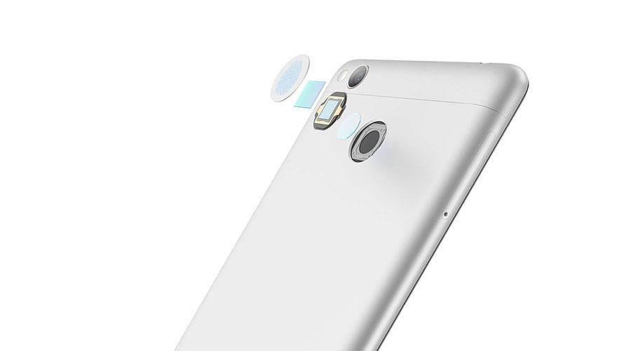 Сканер отпечатков пальцев в Xiaomi Redmi 3S