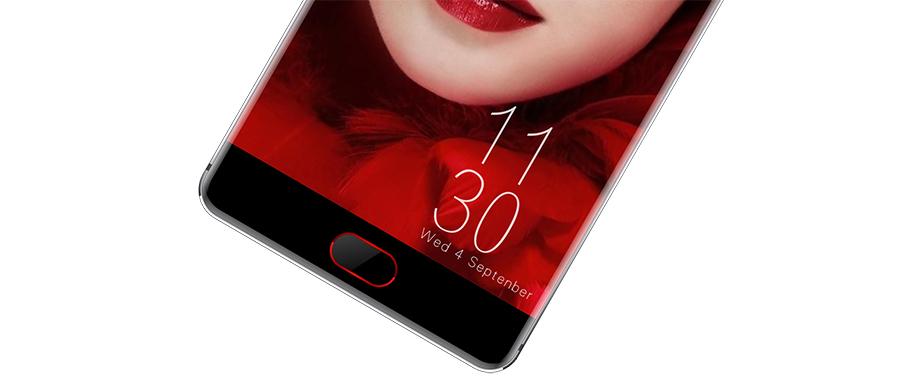 Сканер отпечатков пальцев Elephone P9000 Edge