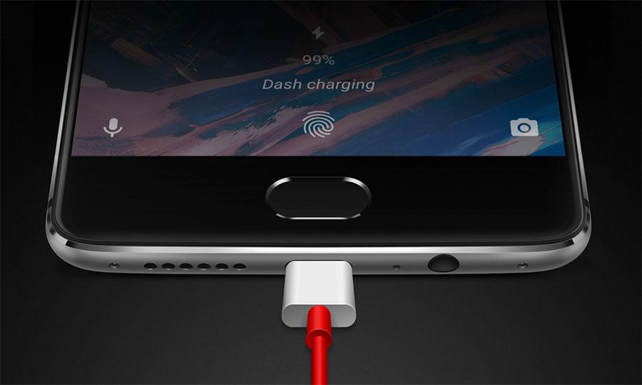 Технология зарядки Dash Chardge OnePlus 3