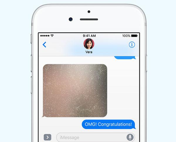 Туман таинственности в iMessage
