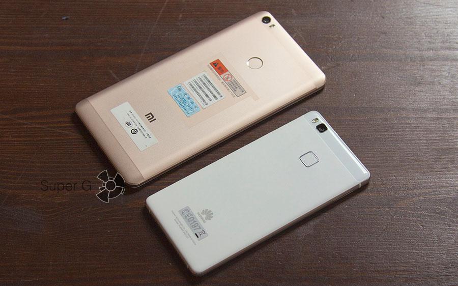 Xiaomi Mi Max и Huawei P9 Lite