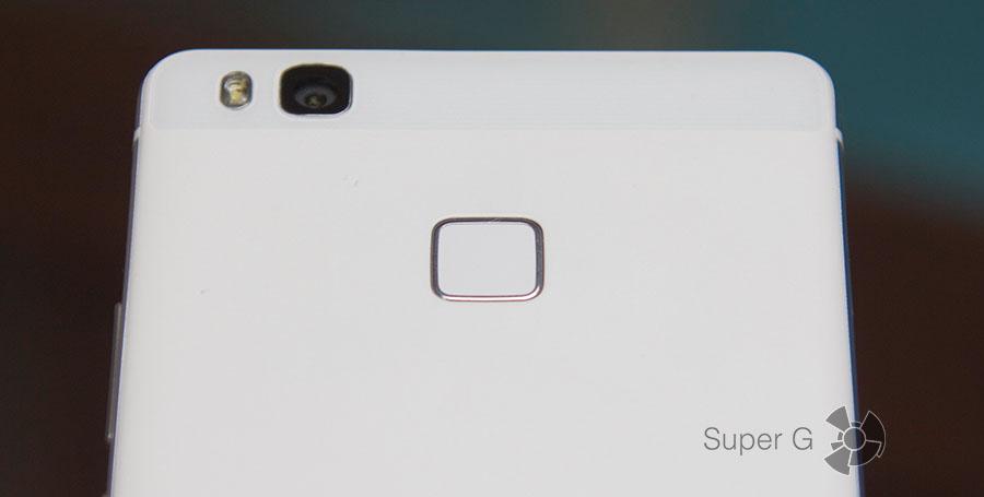 Сканер отпечатков пальцев в Huawei P9 Lite
