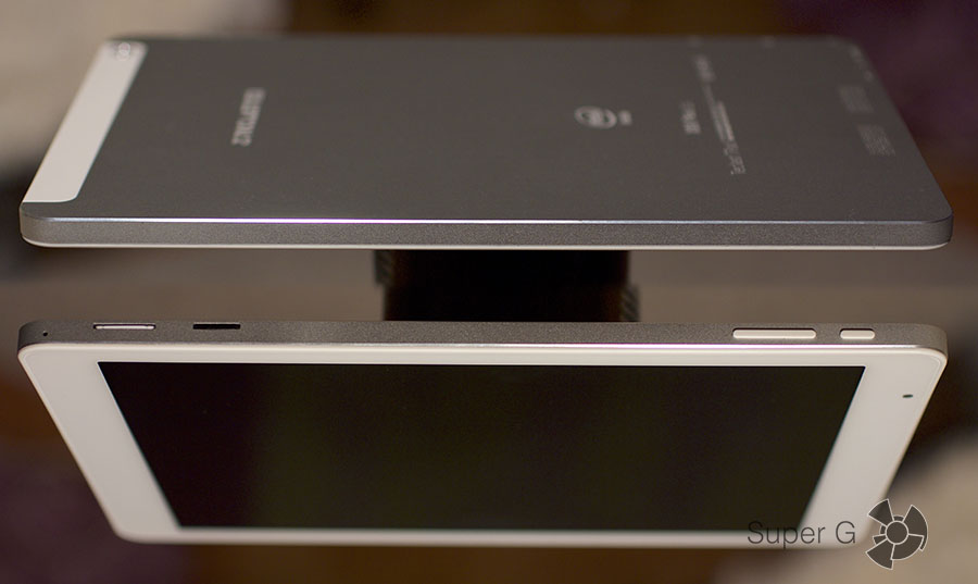 Боковые стороны планшета Teclast X98 Plus