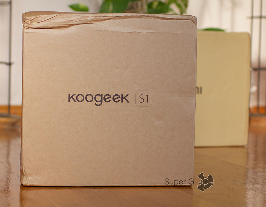 Коробка и комплектация Koogeek Smart Health Scale