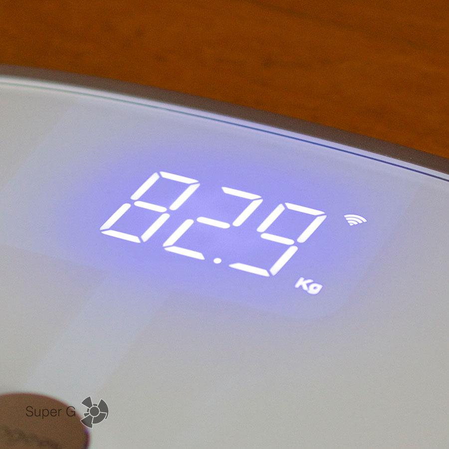 Koogeek Smart Health Scale умеет синхронизироваться и по Wi-Fi