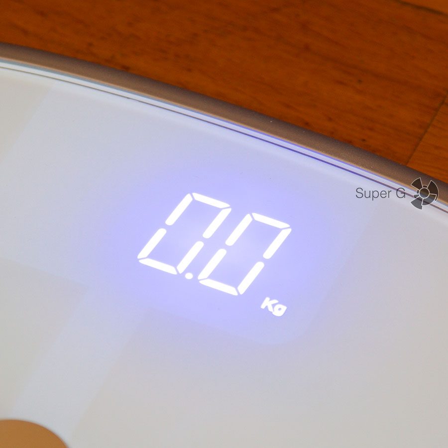 Дисплей Koogeek Smart Health Scale Bluetooth