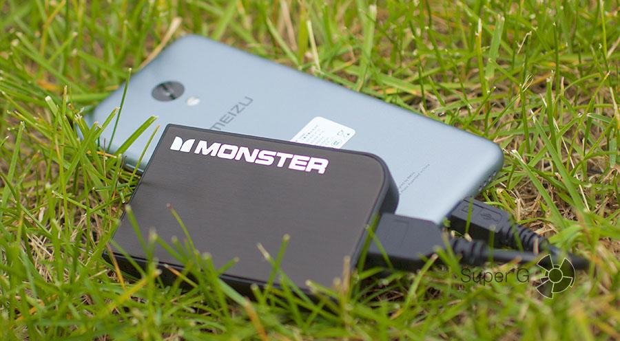 Портативный аккумулятор Monster Powercard Turbo