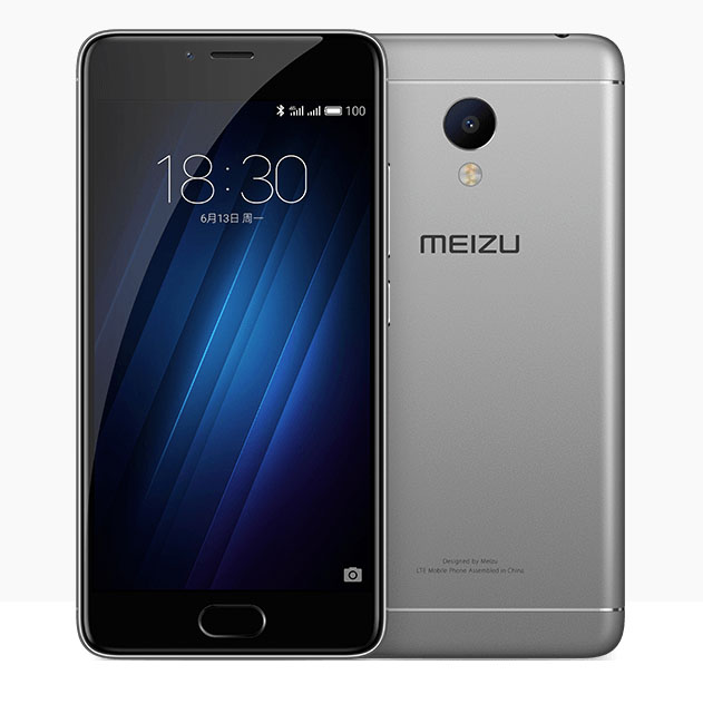 Meizu M3s mini темно-серый