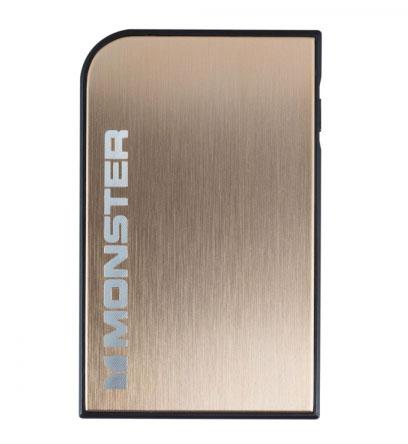 Monster Powercard Turbo золотого цвета