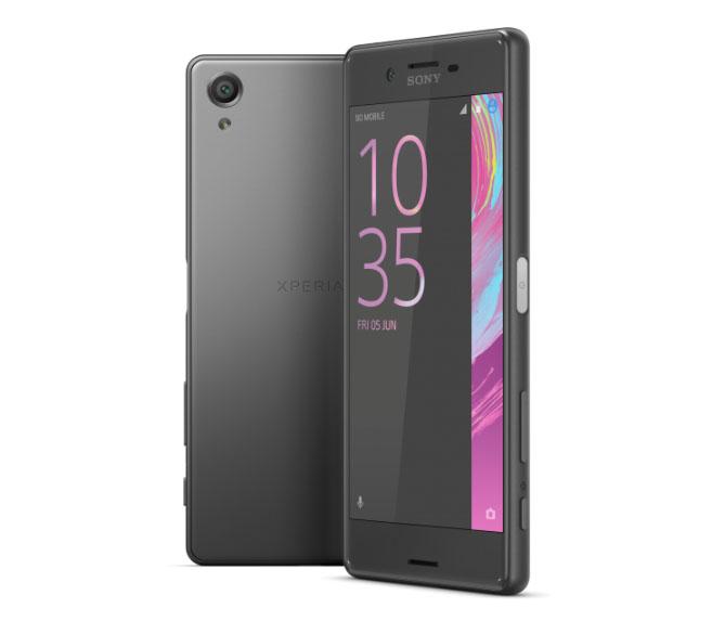 Sony Xperia X графитовый серый или черный