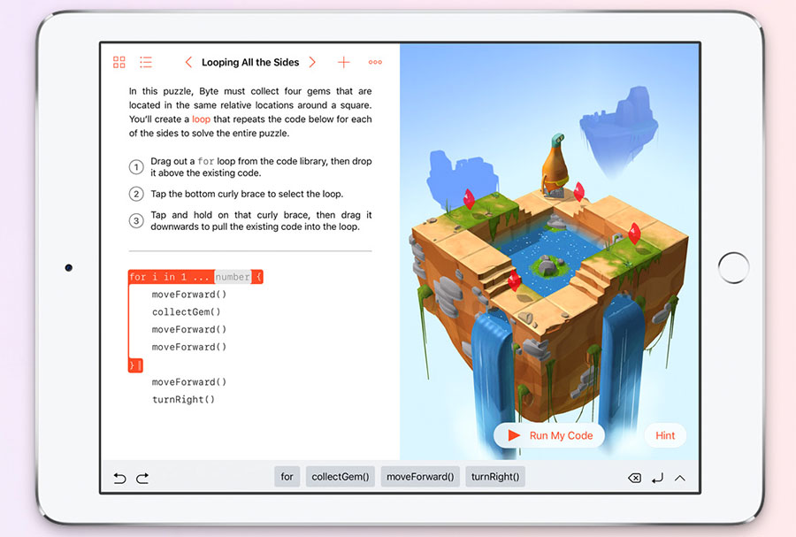 Swift Playgrounds для iPad будет доступен осенью 2016 г