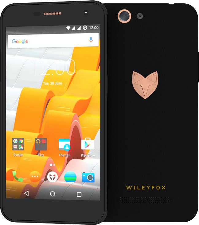 Wileyfox Spark X black