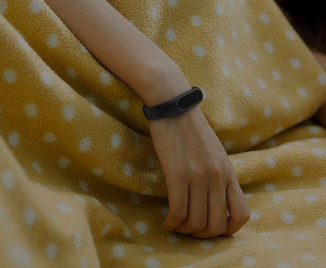 Xiaomi Mi Band 2 может отслеживать фазы сна