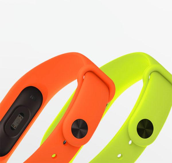 Xiaomi Mi Band 2 цветные ремешки