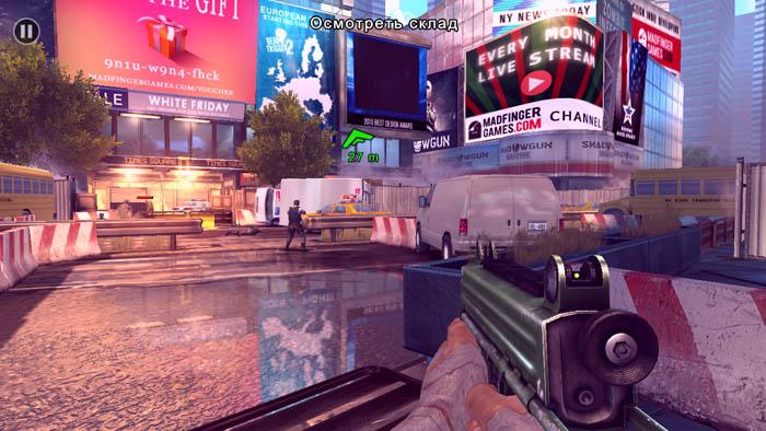 Высокие настройки графики в игре Unkilled на смартфоне Cubot Dinosaur