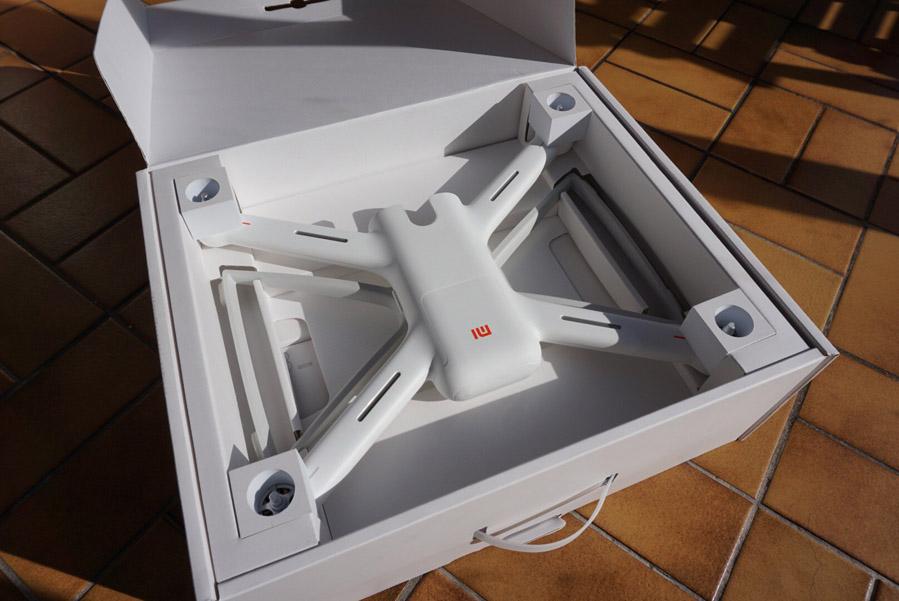 Коробка из-под Xiaomi Mi Drone