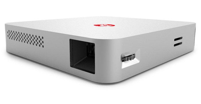 Портативный проектор PaPa DLP с металлическим корпусом
