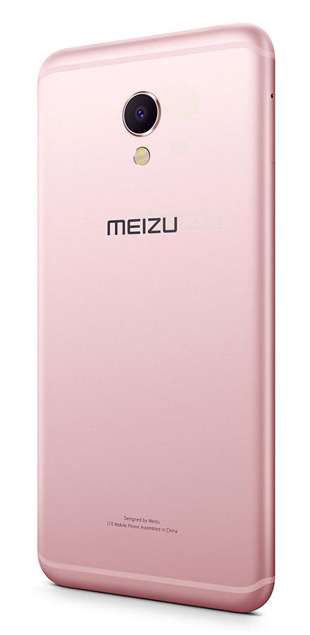 Розовый Meizu MX6