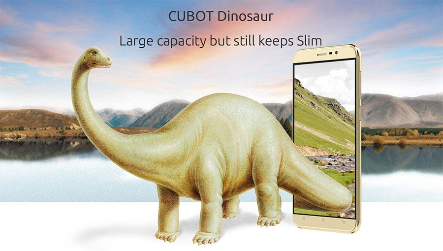 Cubot Dinosaur - настоящий динозавр