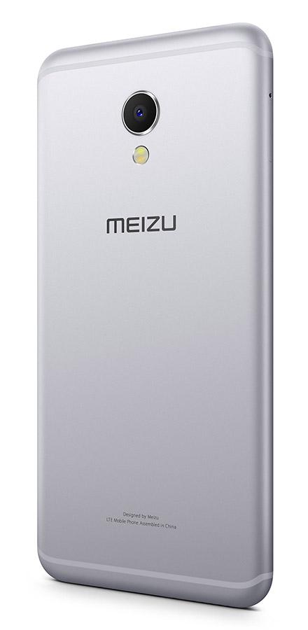 Meizu MX6 серебристо-белый